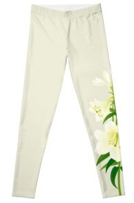 White Lily Leggings