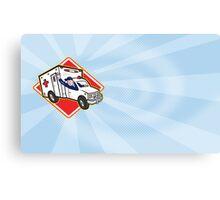 Paramedic EMT Ambulance Driver Canvas Print
