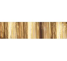 Golden Falls Photographic Print