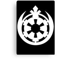 Rebel Empire Fusion - Star Wars Canvas Print