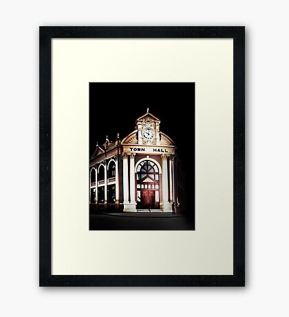 York Town Hall - Western Australia  Framed Print