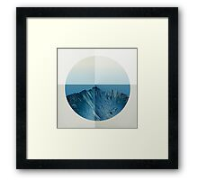 MY ROUND WINDOW Framed Print
