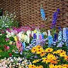 """Garden Flowers 1"" by Chip Fatula by njchip123"