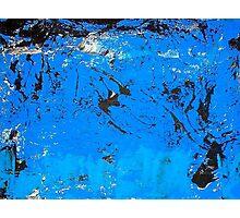 """Blue Rehab Small"" Photographic Print"