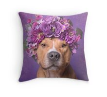 Flower Power, JD Throw Pillow