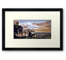 Saint Mary in the Castle - Tarquinia (IT) Framed Print
