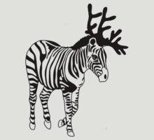 Happy Zebra Christmas by miiaa