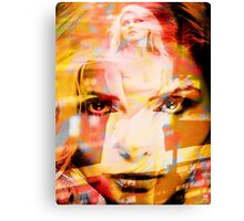 DEBBIE HARRY BLONDIE Canvas Print