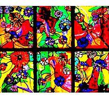 """Window of Flowers""  Photographic Print"