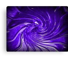"""Purple Swirl Martini Glass"" by Chip Fatula Canvas Print"