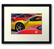 Ferrari ... Framed Print