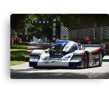 Porsche ... Canvas Print
