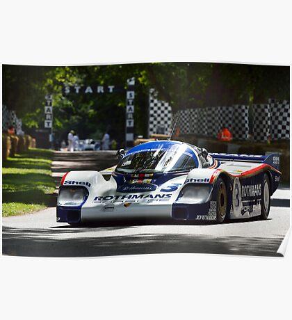 Porsche ... Poster