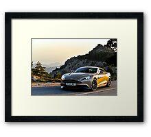 The new Aston Martin Vanquish ... Framed Print