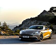 The new Aston Martin Vanquish ... Photographic Print