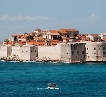 Old City of Dubrovnik by the Sea by Artur Bogacki