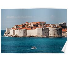 Old City of Dubrovnik by the Sea Poster