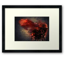 Death Soldier  Framed Print