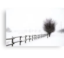 The Magic of Snow Canvas Print