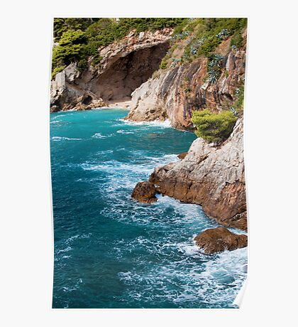 Adriatic Sea Coastline Poster