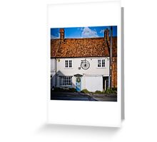 Penny Farthing Cottage Greeting Card