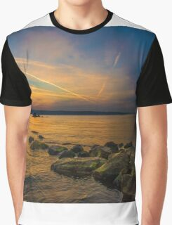 Sunset time at seaside Graphic T-Shirt
