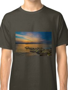 Sunset time at seaside Classic T-Shirt