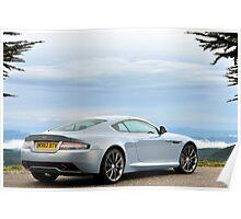 The new Aston Martin DB9 Poster