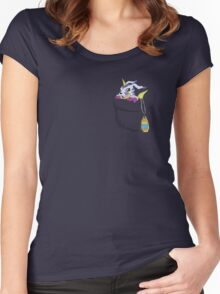 Gabumon in your pocket! Women's Fitted Scoop T-Shirt