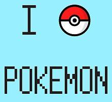I O Pokemon by FlyNebula