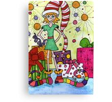 Whimsical Elf Canvas Print