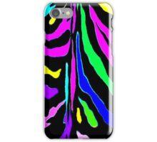 """Digital Zebra Multicolor"" iPhone Case/Skin"