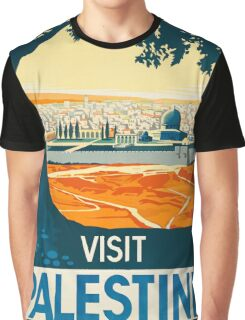Vintage poster - Palestine Graphic T-Shirt