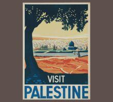 Vintage poster - Palestine Baby Tee
