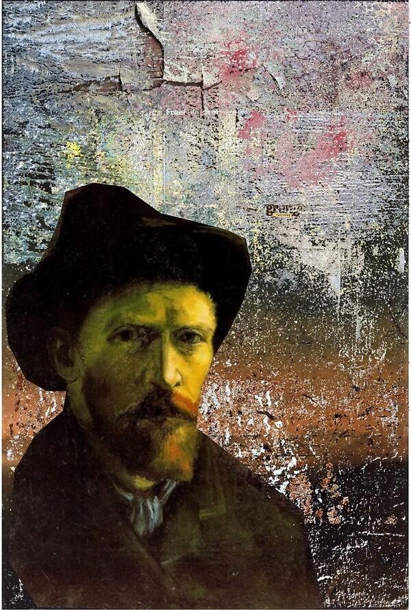 Inspiration-Van Gogh by Teona Mchedlishvili