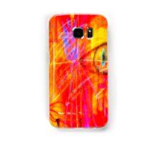 """Red Tulip Lady"" Samsung Galaxy Case/Skin"