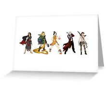 warrior princesses  Greeting Card