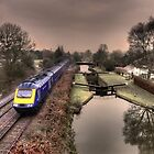 Winter at Little Bedwyn  by Rob Hawkins