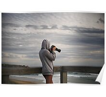 the surf photographer Poster