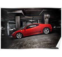 Ferrari 360 Modena Poster
