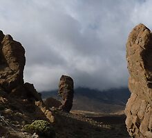 Statuesque Tenerife Rocks by jonvin
