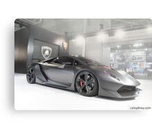 Lamborghini Sesto Elemento Metal Print