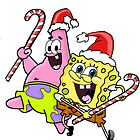christmas spongebob and patrick by LilooCola