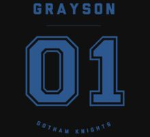 Gotham Knights Jersey - Dick Grayson by strawtography