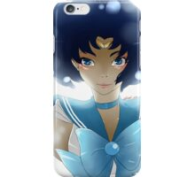 Sailor Mercury - Ami Mizuno (Fan art) iPhone Case/Skin