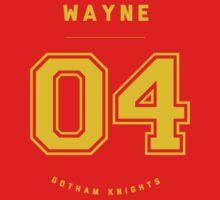 Gotham Knights Jersey - Damian Wayne by strawtography