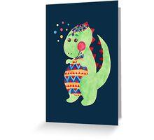 Egg Dino Greeting Card