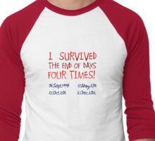 Survival Men's Baseball ¾ T-Shirt