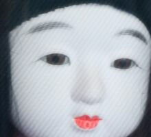 Japanese Doll Sticker
