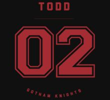 Gotham Knights Jersey - Jason Todd by strawtography